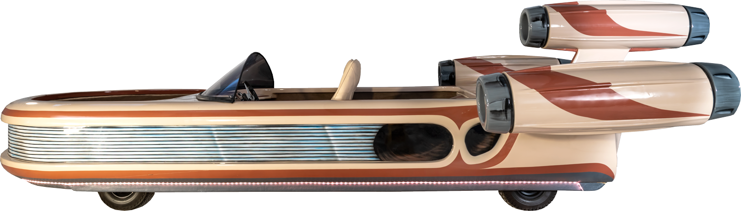 Star Wars Landspeeder Hero Image